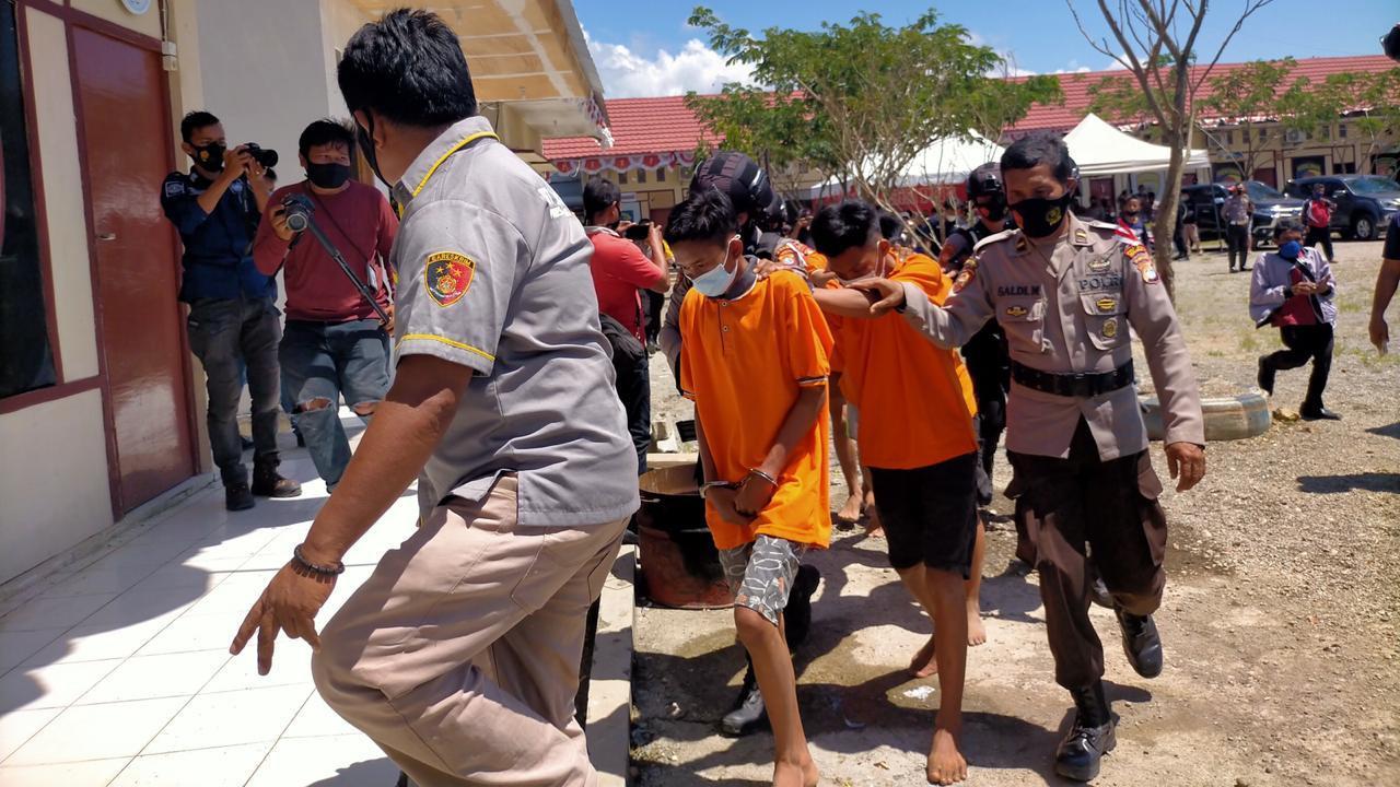 Polisi Tangkap Pembunuhan Jurnalis di Mamuju Tengah dengan 17 Luka Tusuk
