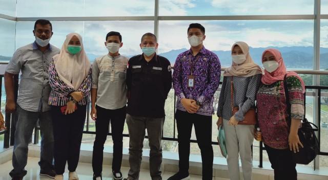 DPRD Sulbar Terima Kunjungan Dewan Sulteng, Ini yang Dibahas