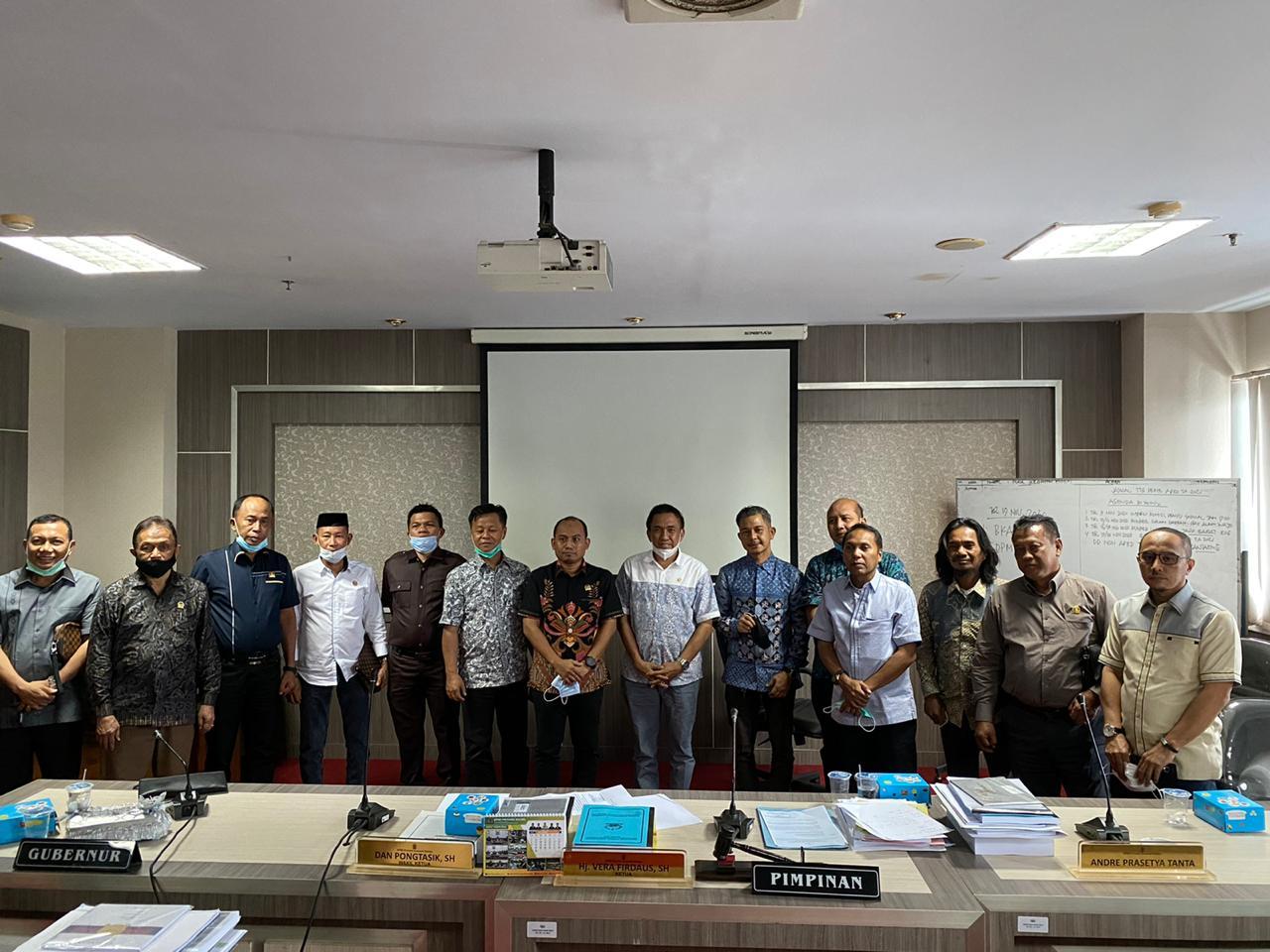 Koordinasi, Banggar DPRD Sulbar Kunker ke Sulsel