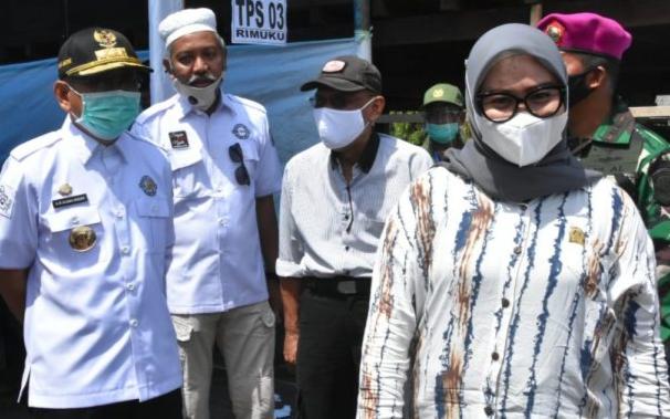 Ketua DPRD Sulbar Apresiasi Penerapan Prokes Pada Pelaksanaan Pilkada