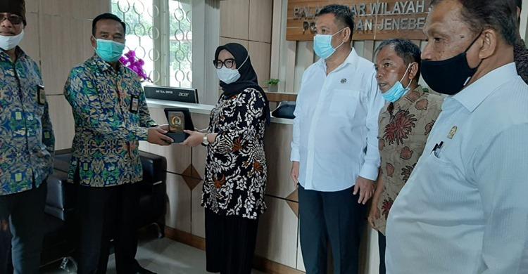 Komisi III DPRD Sulbar Berkunjung ke BBWSPJ di Makassar