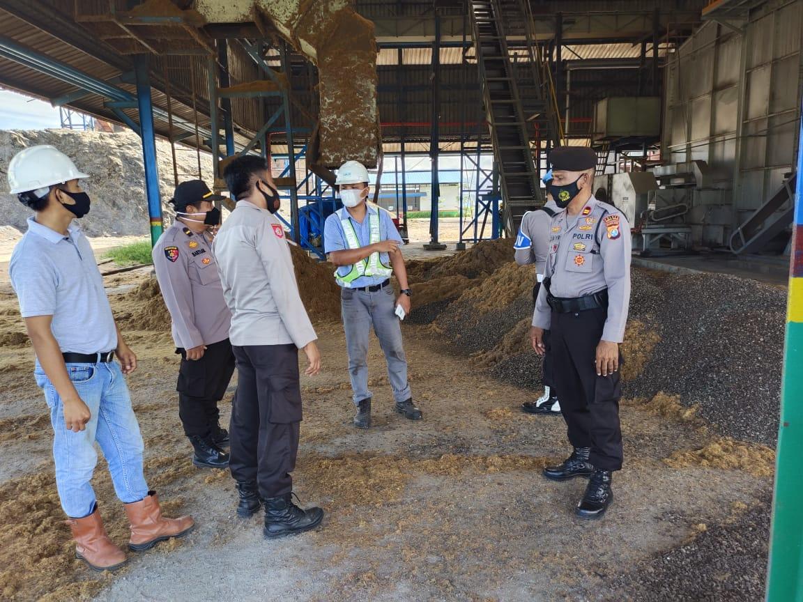 Cegah Kluster Pabrik, Polres Mateng Gelar Operasi Yustisi di Perusahaan