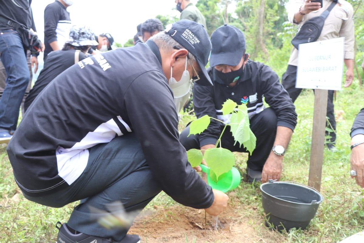 Peringati HLH, Gubernur Sulbar Tekankan Jaga Lingkungan