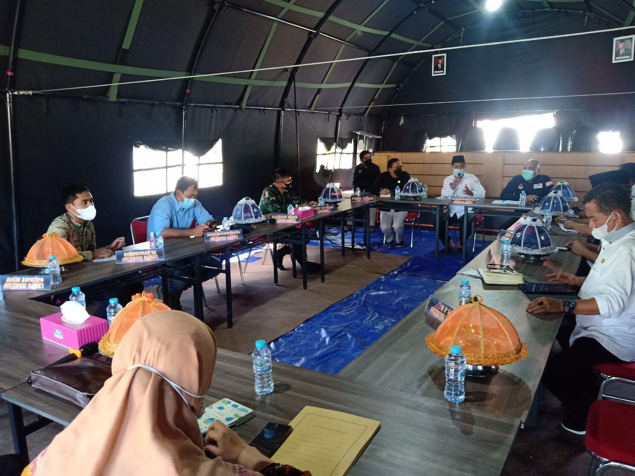 Menuju Pemilu 2024 KPU Sulbar Gelar Rakor Bakohumas