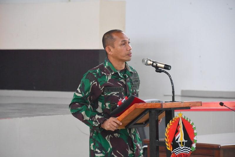 Kasrem 142/Tatag Menyampaikan Apa yang Tidak Boleh Dilakukan Oleh Prajurit TNI